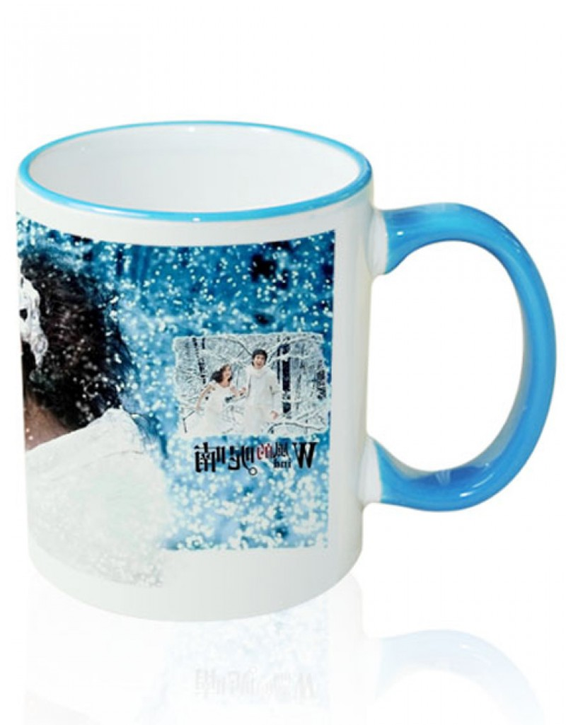 Photo Mug Outer Blue