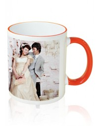 Photo Mug Outer Orange