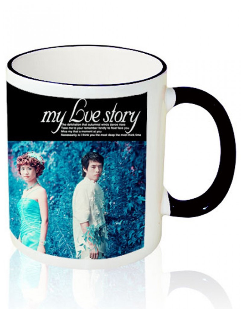 Photo Mug Outer Black