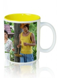 Photo Mug Inner Yellow