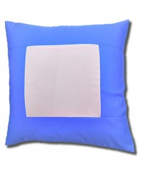 Blue Square Cushion