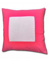 Pink Square Cushion