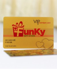 Gold PVC Card(4pcs)