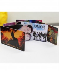 Silver PVC Card Set(4pcs)