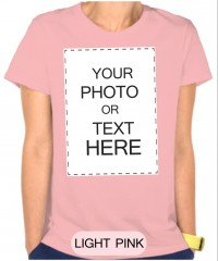 100% Cotton Pink Tshirt